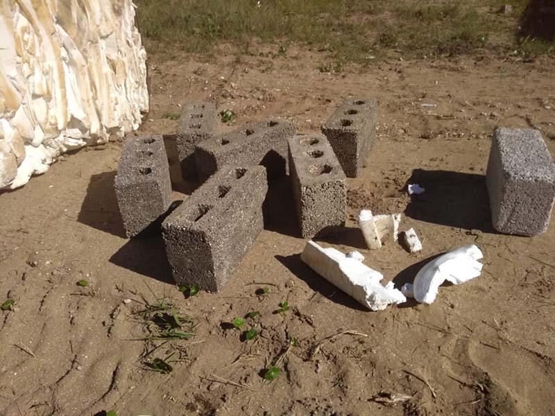 Pinamar: Fabrican ladrillos aislantes con telgopor recuperado