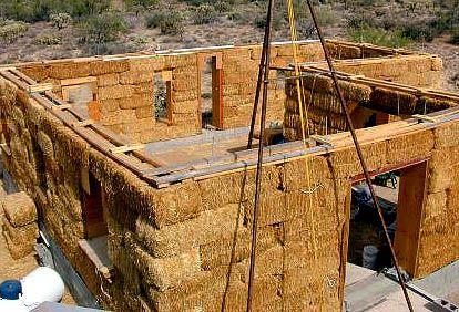 Construir con fardos de paja