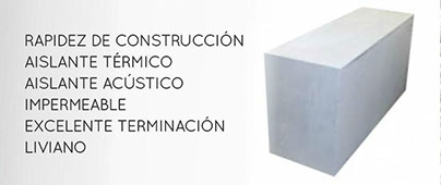 Indublock Bloques de concreto celular