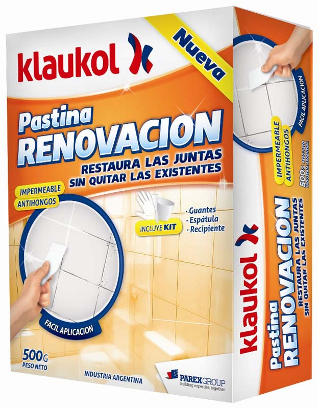 Klaukol pastina renovación