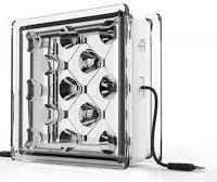 Solar Squared, bloques de vidrio que generan energía renovable